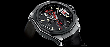 High tech wristwatch