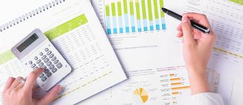 Data tables calculators paper
