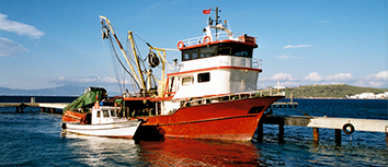 Large fishing boat