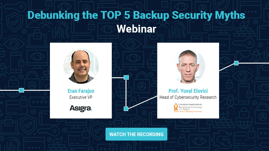 Debunking the Top 5 Backup Security Myths